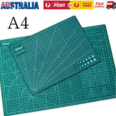 A4 Self Healing Cutting Mat Leather Craft Quilt Scrapbooking PVC Plate 30*22CM