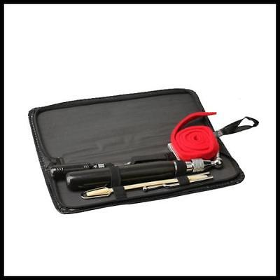 Vktech Professional Complete Piano Tuning / Tuner Kit - 9  tool set with case