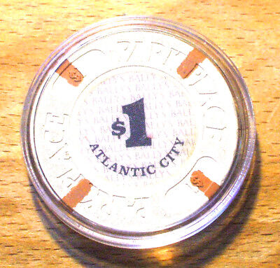 $1. BALLY'S PARK PLACE Casino Chip - Atlantic City, New Jersey