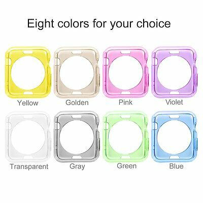 8x Apple Watch Protective Case Cover iWatch Bumper Protector Color Combo 42 mm