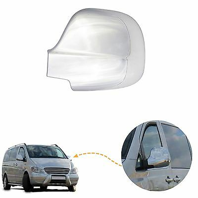Mercedes Vito W639 Viano wing mirror cover cap chrome / Right&Left side