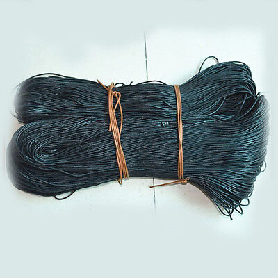 1.5mm Waxed Cotton Braided Cord Wax Linen Macrame Bead Jewelry String 5/20Yards