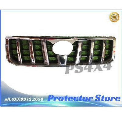 Toyota Prado 2003-2009 120 Series Chrome Grill Front Guard