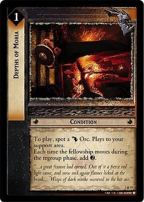 LoTR TCG Realms of the Elf Lords Get Off The Road FOIL 3U88