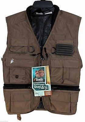 Frogg Toggs Toadskinz™ Hellbender™  Fly Fishing Pack Vest Stone Color Ntv35178