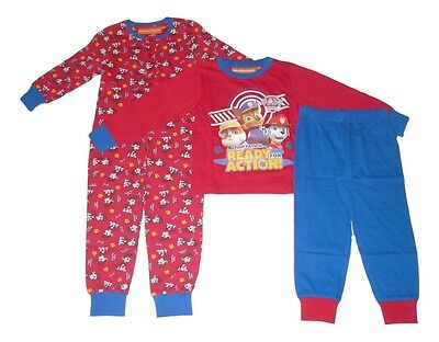 Boys Pyjamas Or Jump Suit Paw Patrol 2 3 4 5 & 6 Years Old