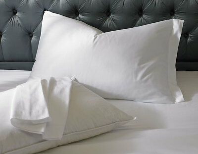 1 Pillow Cases Covers Standard 20X30 Super White T-180 Hotel-Endevours Spa New