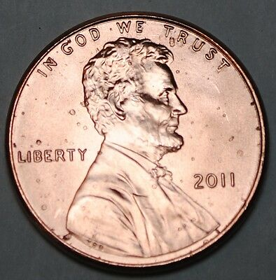 United States 1 Lincoln Shield Cent 2011 P BU USA Penny UNC KM# 468