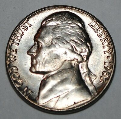 United States 5 Cents 1962 D Jefferson Nickel BU USA UNC KM# A192