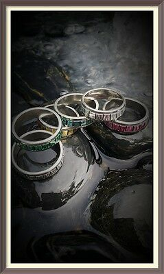 RECHARGING CLEANSING Wiccan Ritual RING TALISMAN Boost Power Super Charge Djinn