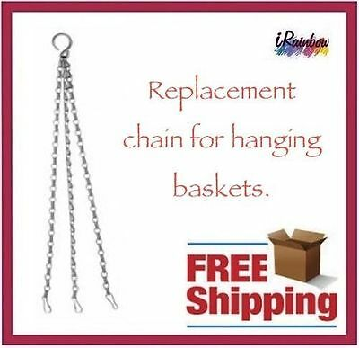 Replacement Chain for hanging baskets with Duble Jack Chain