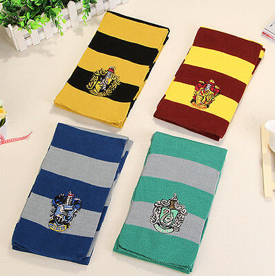 UK Harry Potter Gryffindor/Slytherin/Hufflepuff/Ravenclaw Scarf/Tie book day