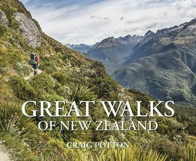 Great Walks of New Zealand by Craig Potton Hardcover Book Free Shipping!