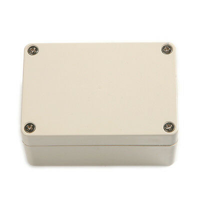 Gray IP65 Waterproof Electrical Enclouse Switch Junction Box 100*68*50mm