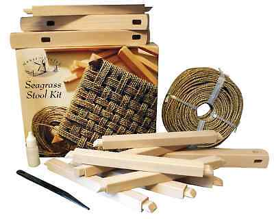 House of Crafts Construction Creation Seagrass Stool Kit Do It Yourself Chair