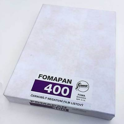 "Fomapan 400 Black & White Film 4 x 5"" 50-Shts"