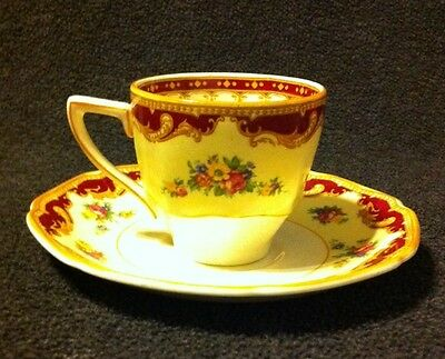 Crown Ducal - WINDSOR - Demitasse Cup and Saucer Set - Made in England