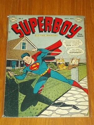 Superboy #3 Vg/fn (5.0) Dc Comics July August 1949<