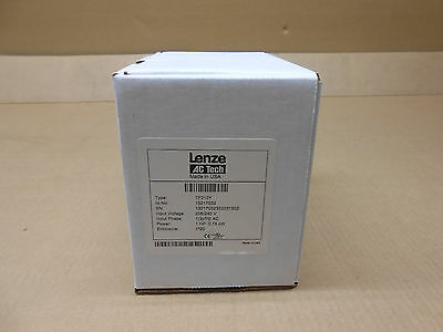 Nib Lenze Ac Tech Tf210Y 1Hp Inverter Drive 0.75Kw Input 1 Ph Or 3Ph Output 3 Ph