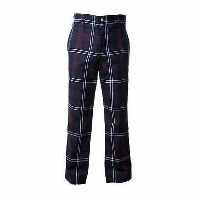 Mens Heritage Of Scotland Tartan Trousers Trews