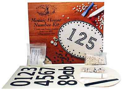 House of Crafts Mosaic Number Kit Do It Yourself Home Decor Creative Front Door