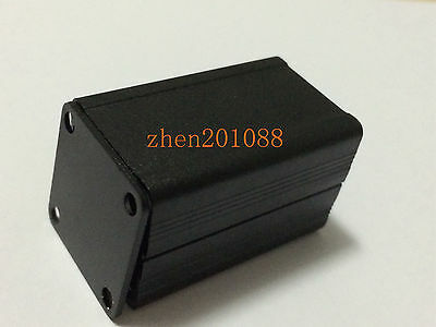 DIY Black Extruded PCB Aluminum Box Enclosure Electronic Project Case 40*25*25mm