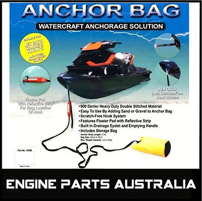 Jet Ski Sand Bag Anchor Suit Seadoo Yamaha Waverunner Polaris Kawasaki Kayak ..