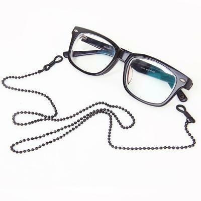 Black Copper Bead Glasses Sunglass Spectacles Chain Neck Cord Holder Lanyard