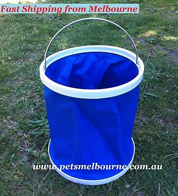 fisher gift for Dad Folding Bucket GR4 Fishing Camping Boating Washing Outdoor