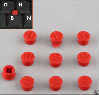 10pcs Rubber-Maus-Zeiger-Trackpoint Red Cap für IBM Thinkpad Laptop Nippel new