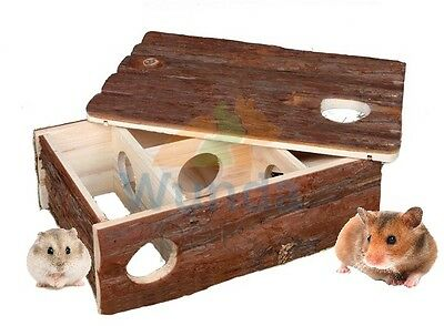 Trixie Leif Small Animal Hamster Mouse Labyrinth Maze X Large Wood House 6201