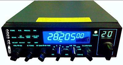 SUPERSTAR CRT SS 6900 N V6 CB HAM RADIO 10m SSB NO CABLE OR SOFTWARE EXPORT MODE