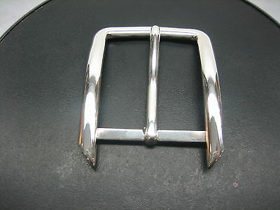 "Sterling silver 925 solid buckle 30 grams, for 1-1/4"" = 32 mm belt straps  U.S.A"