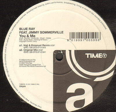 BLUE RAY, FEAT. JIMMY SOMERVILLE  - You & Me - Time