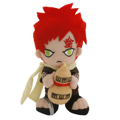 Hot Cute 8'' Naruto Gaara Soft Plush Doll Stuffed Toy Anime Collectible Gift