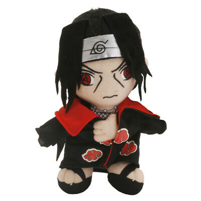 Hot Cute Naruto Itachi Uchiha Soft Plush Doll Stuffed Toy Anime Collection 7.8''