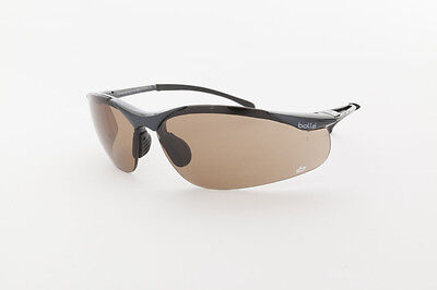 Brand New - Genuine - BOLLE` Safety Glasses - Sidewinder Bronze