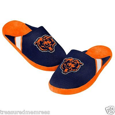 Chicago Bears Team Jersey Indoor/Outdoor Slippers ~ Size Large (11-12) ~ NWT