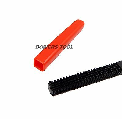 Jawco Red Vinyl File Handle Grip for 7/16in. Square Files Fits All Brands USA