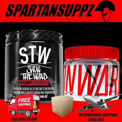 Run Everything Labs Show The World Stw Pump Formula & Onward Stack Clearance