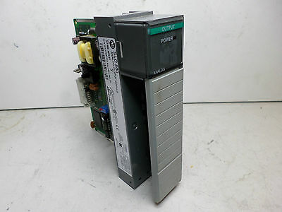 ALLEN BRADLEY SLC500 ANALOG OUTPUT MODULE -- 1746-NO4I Qty Avail