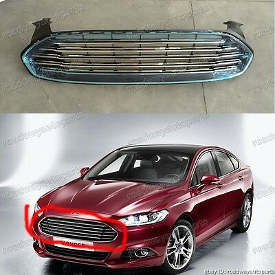 New Front Bumper Upper Grille Assembly Fits Ford Fusion 2013-2016 Ds7Z8200Ba