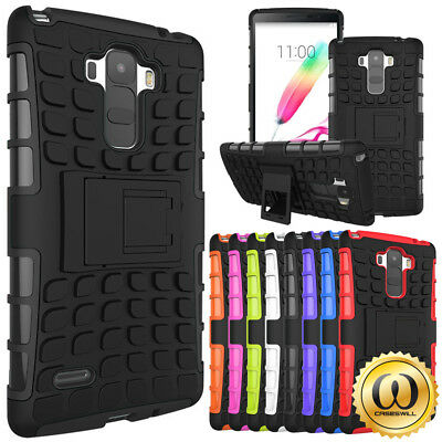 For LG G Stylo Case, Shockproof Rubber Hybrid Armor Kickstand Phone Cover