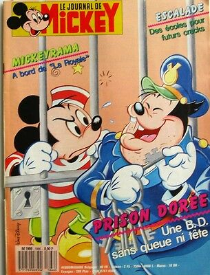 Le journal de Mickey n°1866 du 29 mars 1988 - Mini livre livre de la Jungle