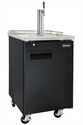 Kegco Commercial Grade Homebrew Kegerator Single Tap Keg Dispenser Black