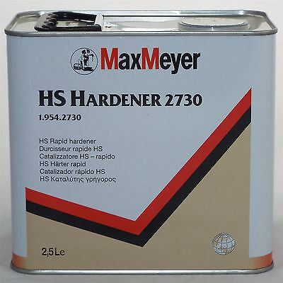 Max Meyer HS Rapid Hardener 2.5Ltr 1.954.2730 Vehicle Paint Lacquer Tin Can