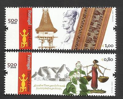 Portugal 2015 - 500 Years Portugal / East Timor set MNH