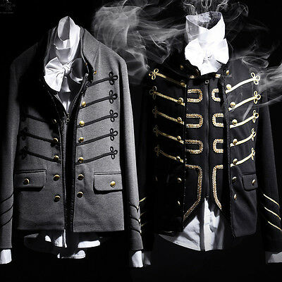 4b772e0322b ByTheR Men s Classic Unique Modern Casual Wear Urban Napoleon Hook Hold  Jacket