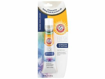 Arm and Hammer dog toothpaste - tartar control beef flavour