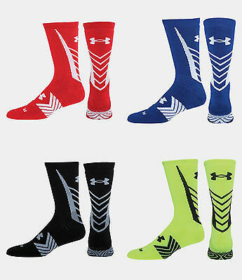 **New** Under Armour Men's UA Undeniable Sports Crew Socks - 1257845